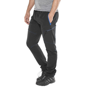 Meru Hawea Technical Pants Men Caviar/Methyl Blue